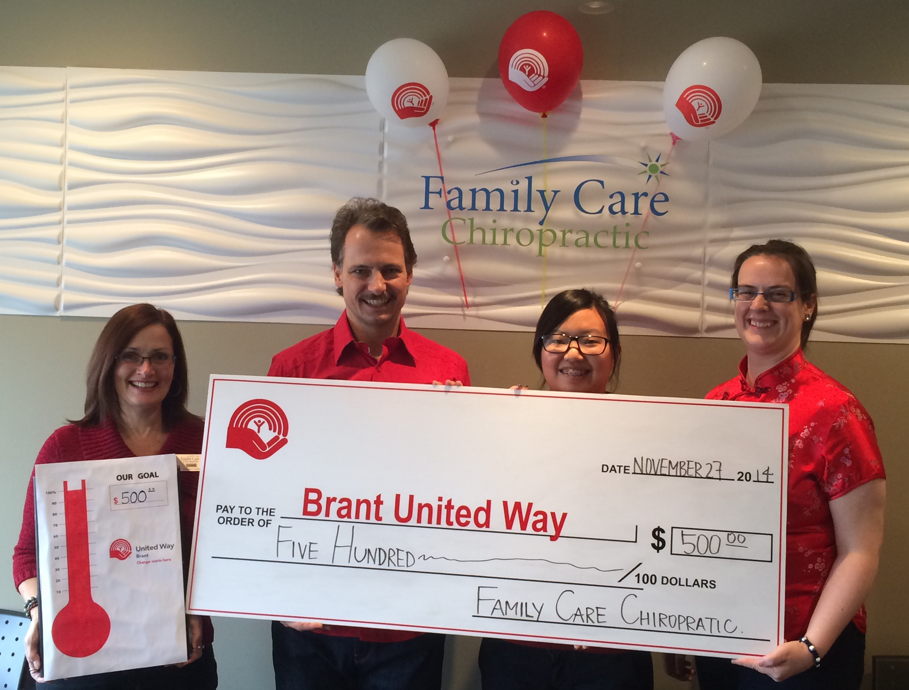 Food For Thought We Met Our 13th Annual Brant United Way Days Donation Goal!